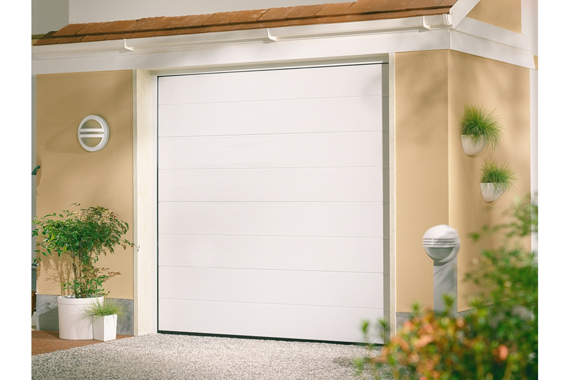 Garador Linear Medium Classic Uninsulated Garage Door 1981mm x 2438mm