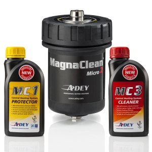 ADEY MagnaClean Micro Filter & Chemical 2pk