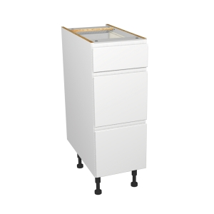 Madison Gloss White 300mm Drawer Unit