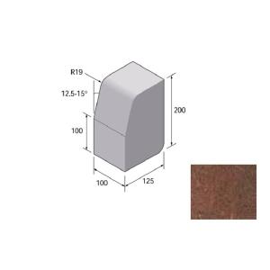 Charcon Lk Large Kerb Main Unit Hb / Bn Brindle