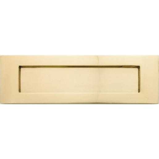 4TRADE Letter Plate Brass 250mm x 75mm