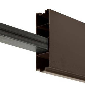 Durapost Composite Gravel Board Sepia Brown 1830mm Home Delivered