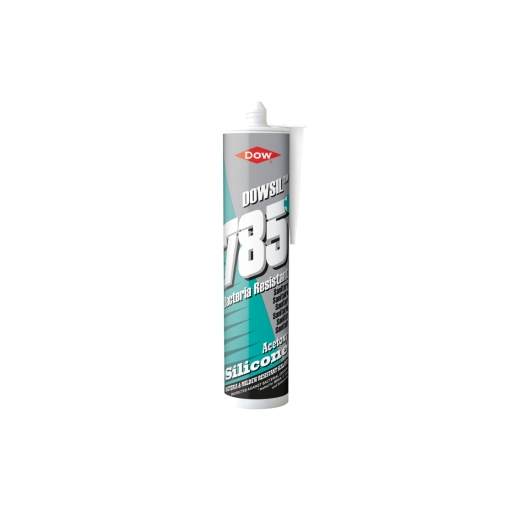 Dow Corning 785+ Silicone Sanitary Sealant White - 310ml