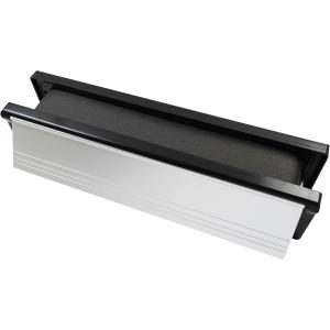 FireSTOP Intumescent Letterbox 250 x 70 Satin Anodised Aluminium FD504