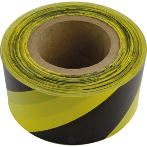 Doncaster Cables Caution Electric Cable Below Tape YELLOW/BLACK 153mm x 365m