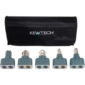 Kewtech Lightmates Lighting Circuit Test Adaptors 242 x 86 x 44mm
