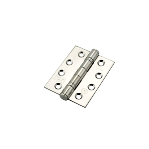 Eclipse 102 x 76 x 3mm Polished Stainless Steel Ball Bearing Hinge Grade 13