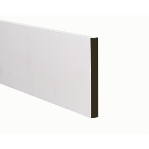 MDF White Painted Square Architrave 18 x 69mm 2.44m