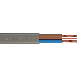 Doncaster Cables Twin & Earth Cable 6242Y Grey 6.0mm2 x 25m Drum