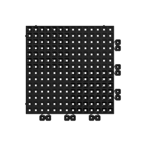 Versoflor Upflor Flooring Tile Graphite Black 9 Pack