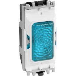 MK Grid Plus Indicator Module Green 200-250V