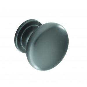 Knob Satin Black 33 x 28mm
