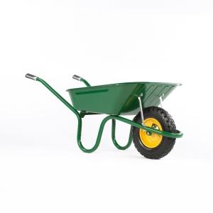 Haemmerlin Puncture Proof Tire Steel Wheelbarrow 90L