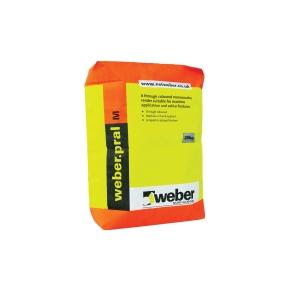 Weber.Pral M Through Colour Monocouche Chalk Render 25kg