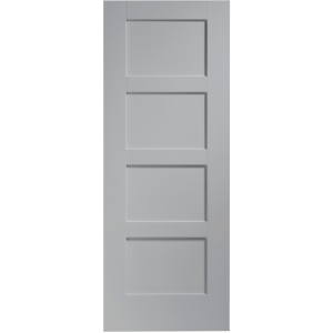XL Joinery Internal Fully Finished Shaker 4 Panel Door 1981 x 838mm Storm