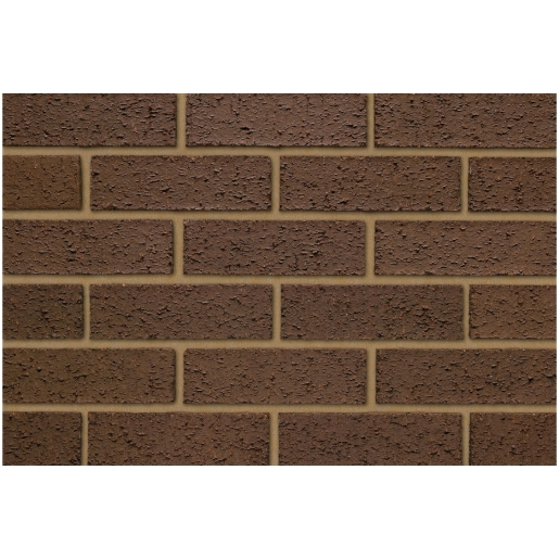 Ibstock Brick Head Bracken Brown Rustic - Pack Of 404