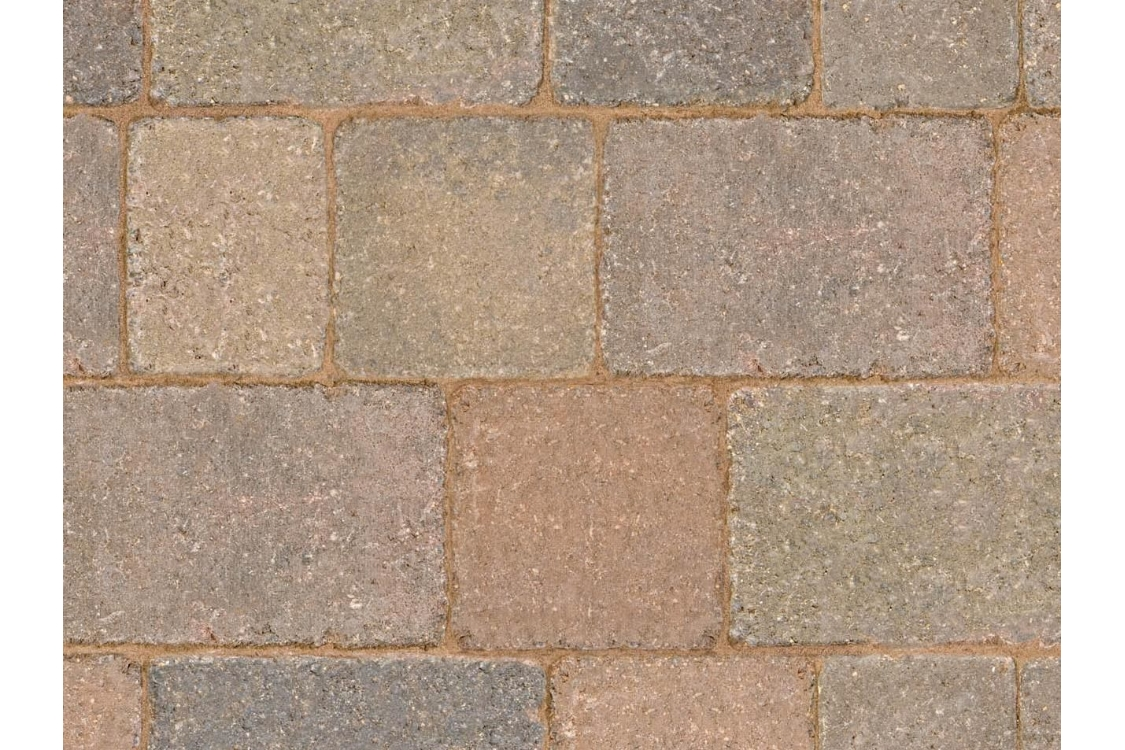 Marshalls Drivesett Tegula Concrete Block Paving Traditional 120 x 160 x 50mm Scotland Small