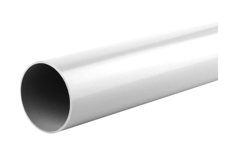 Osma RoundLine 0T088 Pipe 68mm White 5.5M