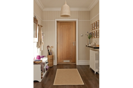 Oregon Croft White Oak Exterior Door 1981x838mm