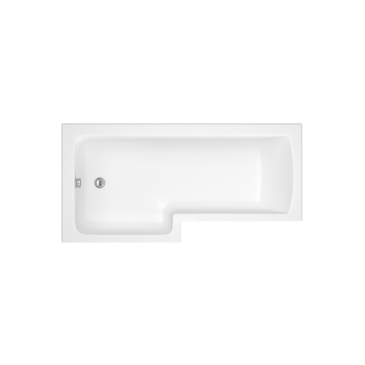 iflo Metz L Shaped Showerbath LH 1700 x 700 mm