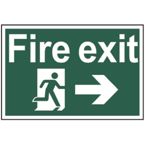 Spectrum Fire Exit (Running Man with Arrow Right) (Regular)