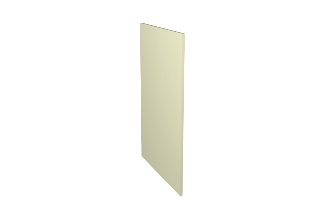 Ohio Cream Kitchen Decor Base Panel 18mm