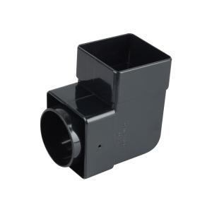Osma SquareLine 4T862 Pipe Bend 87.5° 61mm Black