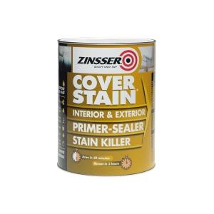 Zinsser Coverstain Primer Sealer Stain Killer 2.5L