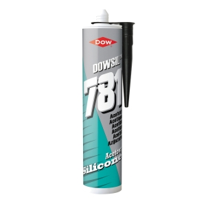Dow Corning 781 Silicone Sealant Black 310ml