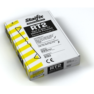 Staifix RT2 Type 2 General Purpose Wall Tie 225mm Box 250