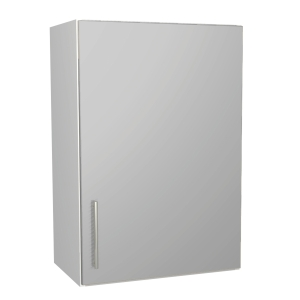 Orlando Gloss Grey Kitchen 500mm Wall Unit