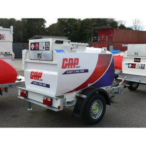Towable Diesel Bowser - 250 Gallons