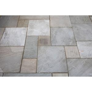 Bradstone Natural Sandstone Patio Pack Grey Mix 15.84m2