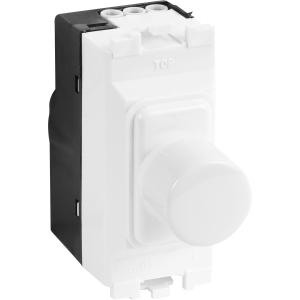 MK Grid Plus Dimmer Switch Modules 1 Module 40W-220W 180VA