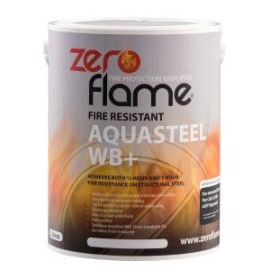 Zeroflame Aquasteel Fire Resistant Coating WB+ 5L