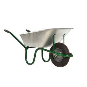 Haemmerlin Galvanised Steel Wheelbarrow 120L