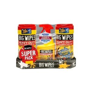Big Wipes Antiviral Spray Pack Pro+