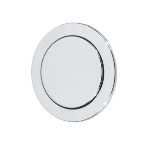 Thomas Dudley Vantage Single Flush Round Button 73.5mm Chrome 327736
