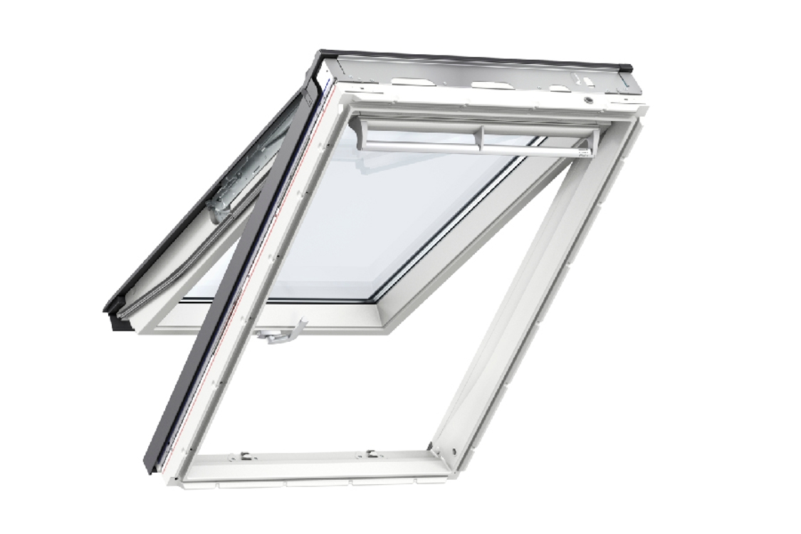 VELUX Top Hung Roof Window White Polyurethane 1140mm x 1180mm Gpu SK06 0062