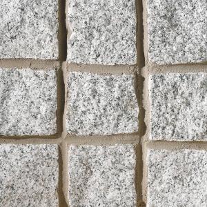 Marshalls Granite Cobble Setts Silver Grey 100mm x 100mm x 200mm - Pack of 200