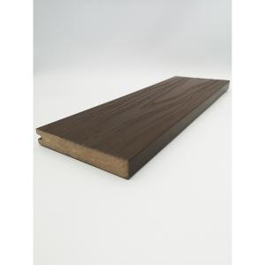 Alchemy Urban Solid Wood Composite Decking 22mm x 138mm x 3600mm Square Edge Board Arran Dark Brown