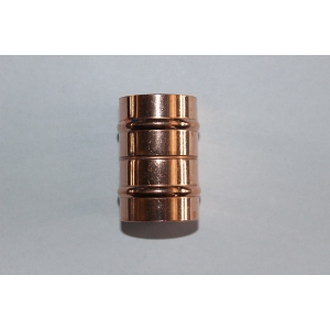 Solder Ring Fitting P1 22 x 22 mm Straight Coupler