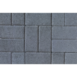 Tobermore Pedesta Decorative Block Paving in Charcoal 200x100x50mm - Pack of 720