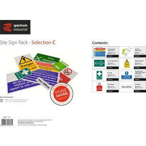 Spectrum Site Sign Pack - Selection C
