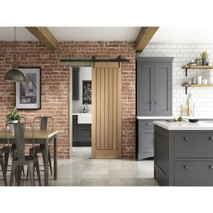 Cottage Sliding Urban Barn Door 862mm