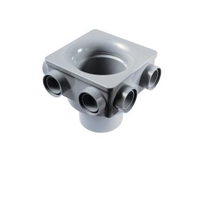 OsmaSoil 4S597G 110mm 6 Boss Manifold Grey