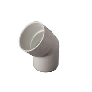 OsmaWeld 45¡ spigot bend white 40mm