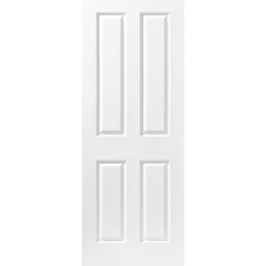 Internal 4 Panel Grained 30 Min Fire Door 2040 mm x 826 mm x 44 mm