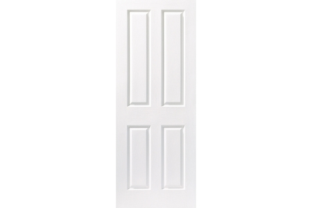 Internal 4 Panel Grained 30 Min Fire Door 2040 x 826 x 44mm