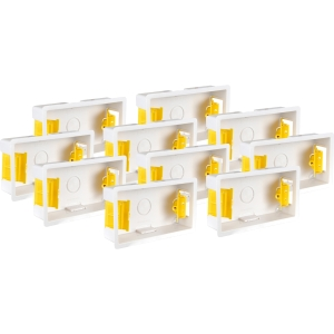 Appleby Dry Lining Boxes 2 Gang 35mm Trade Pack 10 Pk